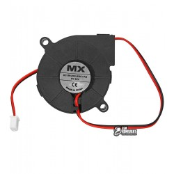 Вентилятор-улитка MX-5015, 24V, 50 x 50 x 15 мм