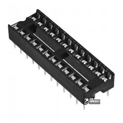Панель DIP узкая, 24pin, DIP-24-N, для микросхем