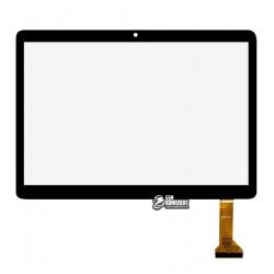 Тачскрин (сенсорный экран, сенсор) для китайского планшета 9.6, 50 pin, с маркировкой AST-9008, размер 222*156 мм, черный