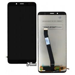 Дислпей Xiaomi Redmi 7A, черный, с сенсорным экраном, Original (PRC)
