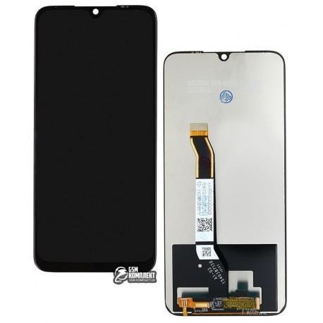 Дисплей Xiaomi Redmi Note 8, Redmi Note 8T, черный, с сенсорным экраном (дисплейный модуль), Original (PRC)