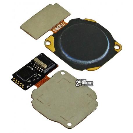 Шлейф для Huawei P20 Lite, Honor 9 Lite, Nova 3e, Mate 10 Lite для сканера отпечатка пальца (Touch ID), черный