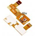 Шлейф для Fly IQ443 Trend, original, динаміка, з датчиком приближення, з компонентами, N808-E88000-000