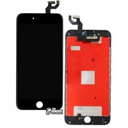 Дисплей iPhone 6S Plus, черный, с сенсорным экраном (дисплейный модуль), с рамкой, Сopy, NCC ESR ColorX