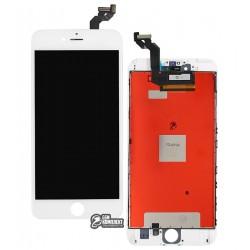 Дисплей iPhone 6S Plus, белый, с сенсорным экраном (дисплейный модуль), с рамкой, Сopy, NCC ESR ColorX