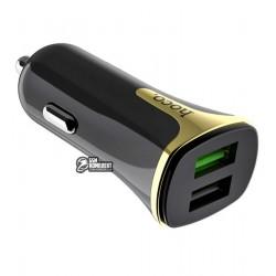 Автомобильное зарядное устройство Hoco Z31 Universe QC3.0, 2USB