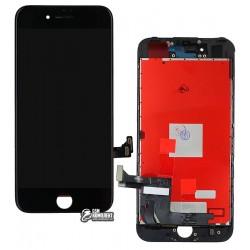 Дисплей iPhone 7, черный, с сенсорным экраном (дисплейный модуль), с рамкой, Сopy, NCC ESR ColorX