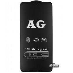 Закаленное защитное стекло для Xiaomi Redmi 8, Redmi 8A, 0,26 мм 9H, 2.5D, Full Glue, матовое, черное
