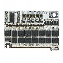 BMS Модуль защиты 5 элементов 18650 с балансировкой 100A 21V