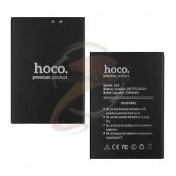 Аккумулятор Hoco для Doogee X20, (Li-ion 3.7V 2580mAh), BAT17582580