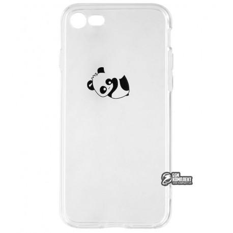 Чехол для iPhone 7 / iPhone 8, Viva Animal TPU Case, силиконовый, панда