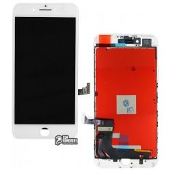Дисплей iPhone 7 Plus, белый, с сенсорным экраном (дисплейный модуль), copy