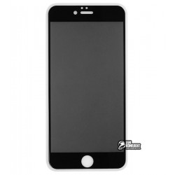 Закаленное защитное стекло для iPhone 6 Plus, iPhone 6s Plus, 2,5D, Full Glue, Антишпион, черное