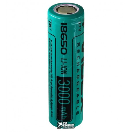 Аккумулятор 18650 Videx, (Li-ion 3.7V 3000mAh)