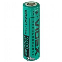 Аккумулятор 18650 Videx, (Li-ion 3.7V 3400mAh)