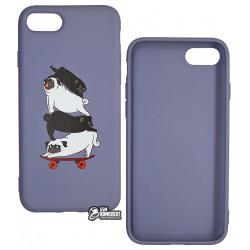 Чехол для Apple iPhone 7, iPhone 8, Toto Matt TPU Print case, mops