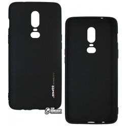 Чехол для OnePlus 6, Smtt, силиконовый, матовый, черный