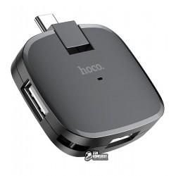 Type-C-хаб HOCO HB11 Type-C to three-port USB converter