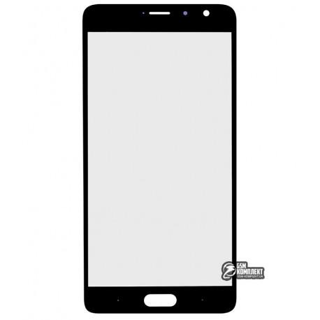Стекло корпуса для Xiaomi Redmi Pro, черное