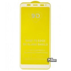 Закаленное защитное стекло для Xiaomi Redmi 5 Plus, 0,26 мм 9H, 2.5D, Full Glue