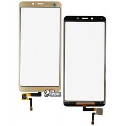 Тачскрин для Xiaomi Redmi 6, Redmi 6A, золотой
