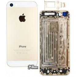 Корпус для Apple iPhone 5S, золотистый
