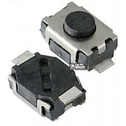 Кнопка тактовая SMD, 3 x 4 x 2 мм, 2pin