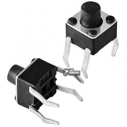 Кнопка тактовая 4,5 x 4,5 x 5 мм, 4pin