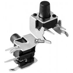 Кнопка тактовая 6 x 6 x 8 мм, 2pin, боковая