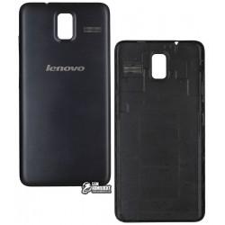 Задняя крышка батареи для Lenovo S580, чёрная