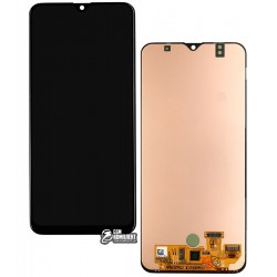 Дисплей Samsung A307F/DS Galaxy A30s, черный, с сенсорным экраном, Original (PRC), original glass