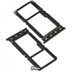 Держатель SIM-карты для Xiaomi Redmi 6A, черный