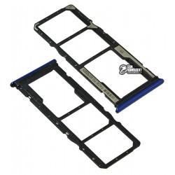 Держатель SIM-карты для Xiaomi Redmi 8, синий