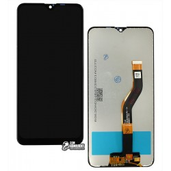Дисплей Samsung A107F/DS Galaxy A10s, черный, с сенсорным экраном, Original (PRC), original glass