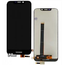 Дисплей для Doogee X70, черный, с сенсорным экраном, Original (PRC)