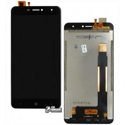 Дисплей для Doogee X7, X7 Pro, черный, с сенсорным экраном, Original (PRC)