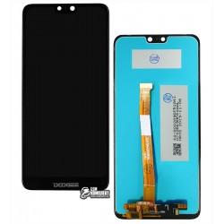 Дисплей для Doogee Y7, черный, с сенсорным экраном, Original (PRC)