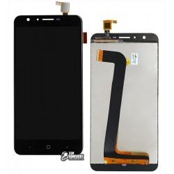 Дисплей для Doogee Y6, черный, с сенсорным экраном, Original (PRC)