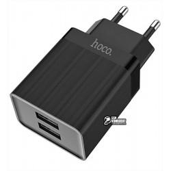 Зарядное устройство Hoco C51A Prestige, 2USB, 3.4А