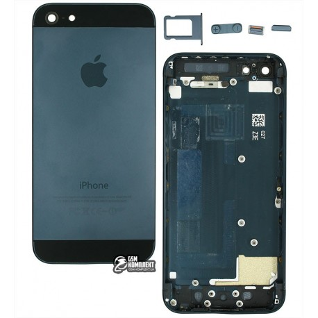 Корпус для Apple iPhone 5, синій