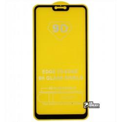 Закаленное защитное стекло для Xiaomi Mi8 Lite/ Mi 8x, 0,26 мм 9H, 2,5D, Full Glue, черное