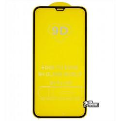 Закаленное защитное стекло для Apple iPhone XR (2018) , 0,26 мм 9H, 2.5D, Full Glue, черное
