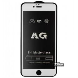 Закаленное защитное стекло для iPhone 6 Plus, iPhone 6s Plus, 2,5D, Full Glue, матовое, белое