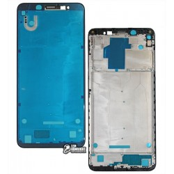 Рамка крепления дисплея Xiaomi Redmi Note 5, Redmi Note 5 Pro, черная