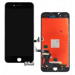 Дисплей для iPhone 7 Plus, черный, с сенсорным экраном (дисплейный модуль), с рамкой, AAA, Tianma+
