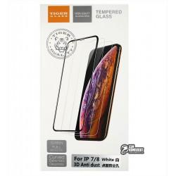 Закаленное защитное стекло для Apple iPhone 7, iPhone 8, 0,26 мм 9H, Tiger Glass, 3D, белое