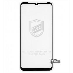 Закаленное защитное стекло для Meizu Note 9, 0,26 mm 9H, 2.5D, Full Glue, черное