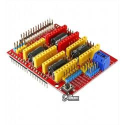 Модуль расширения CNC Shield v3.0 для Arduino UNO, A4988/DRV8825
