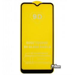 Закаленное защитное стекло для Samsung A015 Galaxy A01 (2020), 0,26 мм 9H, 2.5D, Full Glue, черное