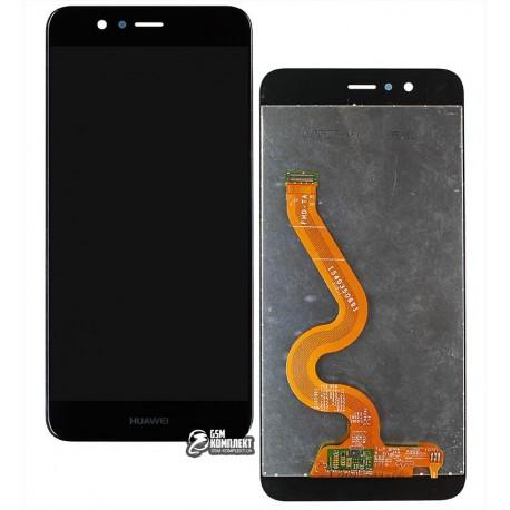 Дисплей для Huawei Nova 2 Plus (2017), черный, с сенсорным экраном (дисплейный модуль), original (PRC)